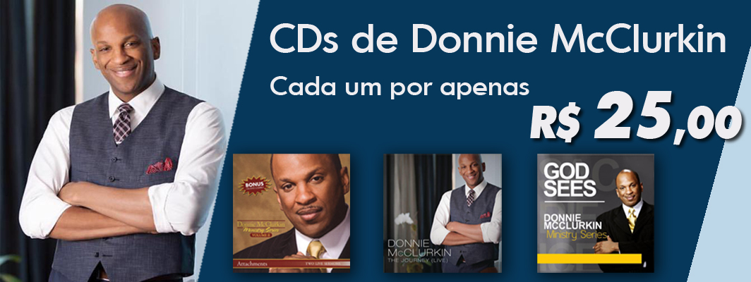 CDs de Donnie McClurkin